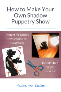 How to host your own shadow puppetry show - great for parties, classrooms, and fun!