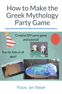 Learn how to make the ultimate Greek mythology party game - perfect for a birthday party or class lesson based around Greek myths!